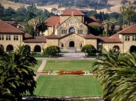 Stanford University in California