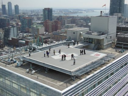 St. Michael's Hospital Helipad