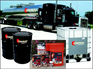 Contego fire retardant paint comes in a variety of size optons