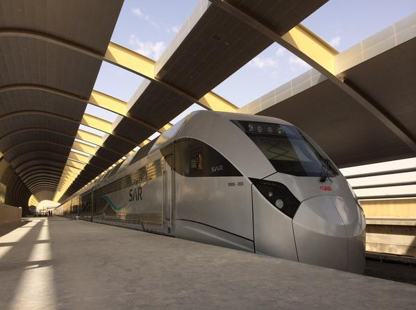 Contego intumescent fire retardant is painted on the structural steel of the Saudi Arabia Rail stations.