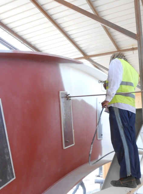 Contego intumescent fire retardant is the best way to protect steel
