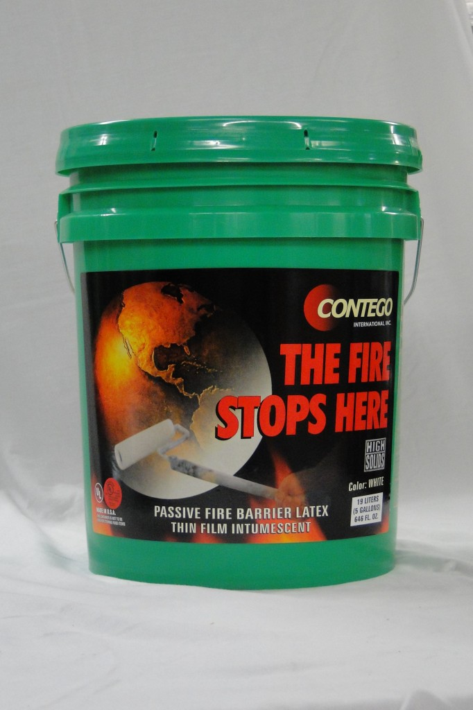 Contego Fire Retardant Paint Green