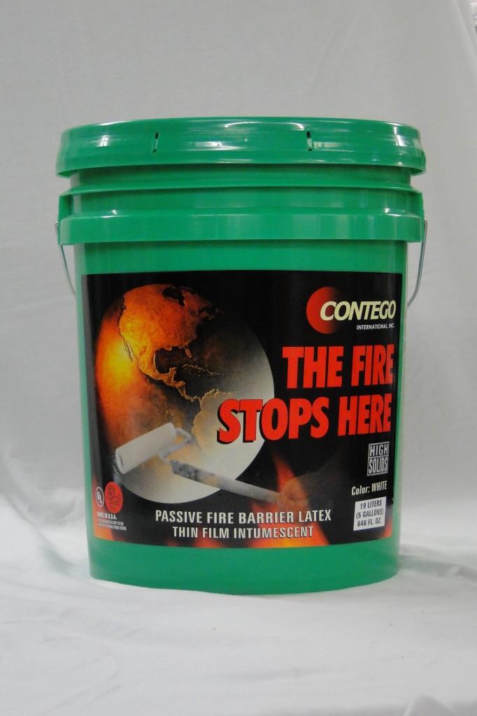 Contego Fire Retardant Paint Green