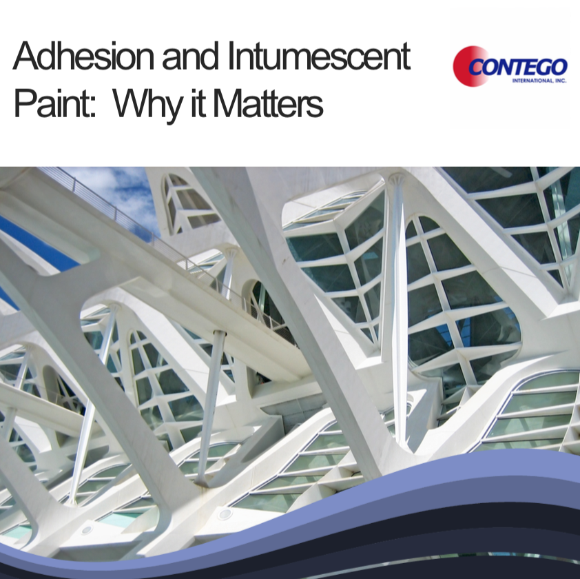 "cover of ebook ""Adhesion and Intumescent Paint: Why it Matters"""