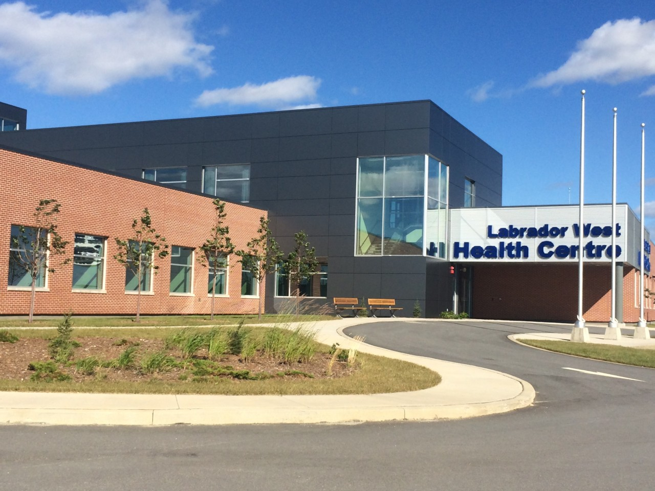 Labrador West Health Center is protected by Contego fire retardant latex