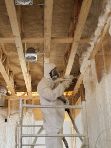 Polyurethane Foam Spray Insulation needs protection